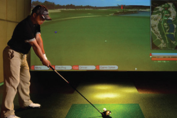 The Mission Golf - Indoor Golf Simulator Facility